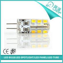 1.5w 24pcs 2835smd 12v g4 led bulb with dimmable function