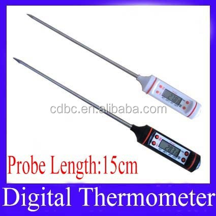 Digital kitchen thermometer tp101 for food temperature measure probe length 15cm