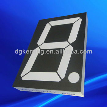 "ultra bright red anode 3"" inch 7 seven segment Led Display"