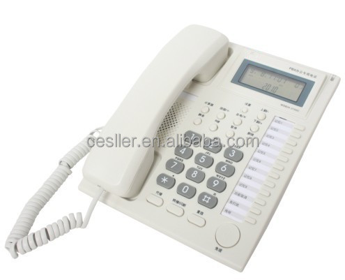 cheap analog caller id telephone for hotel phone