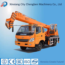 10 ton telescopic crane mounted on truck