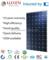 260W hyper power Mono Solar Panel Photovoltaic Solar Module