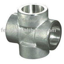 new products forged stainless steel cross joint pipe fitting