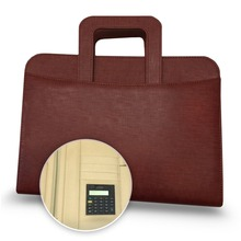 New Design Executive Multi-function Business Briefcase Portfolio With Calculator Organizer Writing Pad Business Case