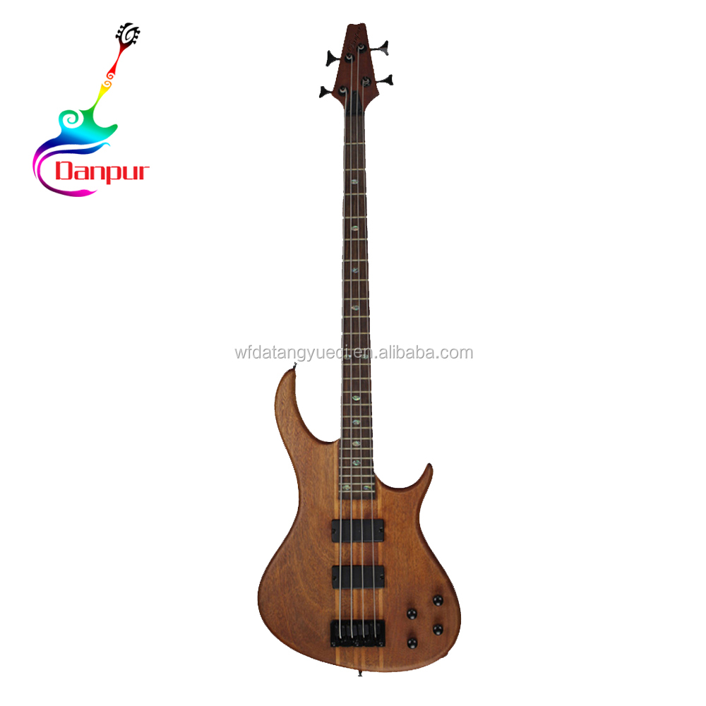 Wholesale Chinese bass hollow body and neck guitar kit