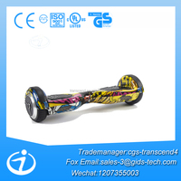 Christmas Gift Scooter Unicycle Self Balancing Two Wheeler Electric with Bluetooth and Speaker Hover Board