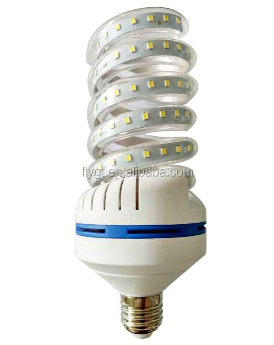 5W 7W 9W 12W 15W 24W 32W Spiral led corn bulb light