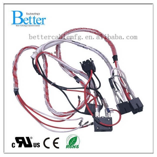 Good quality manufacture 1.5 sq mm electrical wire harness