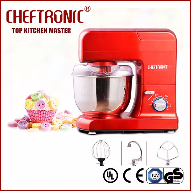 Kitchen food aid spiral Flour dough kneading mixer machine household meat mixer with variable speed