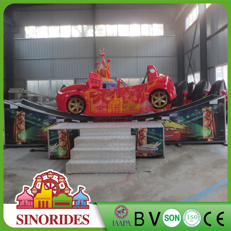 Mini flying car factory pictures indoor kids ride for sale