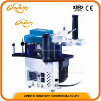 low price manual end trimming semi auto wood edge banding machine with CE