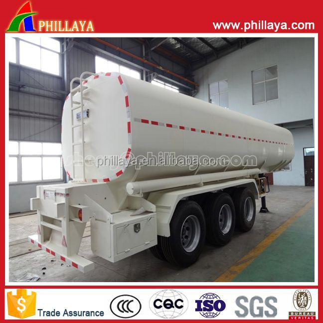 Oil Fuel Transport Truck Trailer Insulation Tank Semi-Trailer