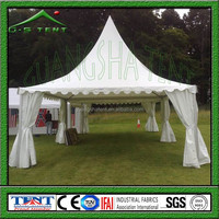 china supplier pvc roof gazebo beach tent 4m x 4m for sale