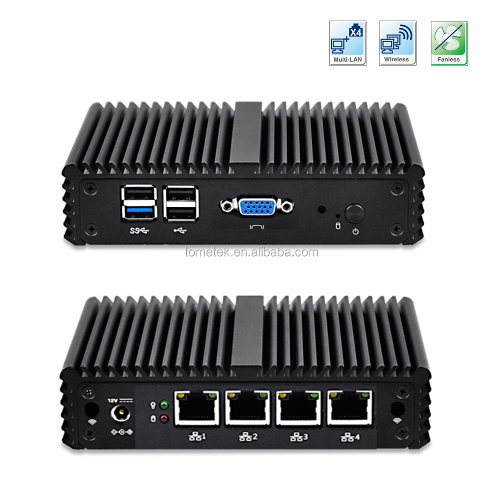 X86 fanless embedded PC Proxy server