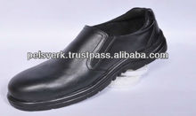 Men Leather Executive Safety Shoes with Iron Toe
