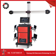 China Best real-time measuring 3d car wheel aligner price