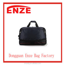 High Quality wheels rolling luggage waterproof duffle bags travel trolley boarding bag 4 colors