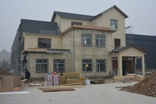 Professional customized light steel structure villa house