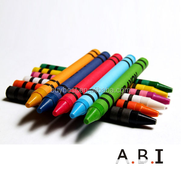 high quality wax crayons 12 pack