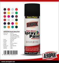 AEROPAK High Quality Spray Paint MSDS Aerosol Paint Color Spray Pintura Spray