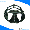 Low Volume Black Scuba Mask For
