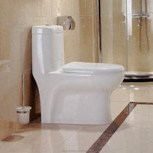 2029 Siphon Water Saving 300mm Ivory Color Toilet