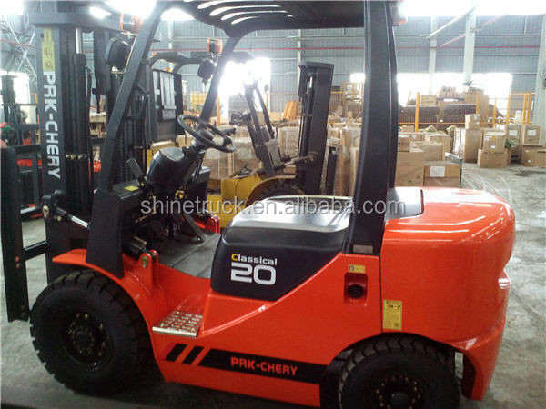 Container fork lift,2000kg forklift,internal combustion