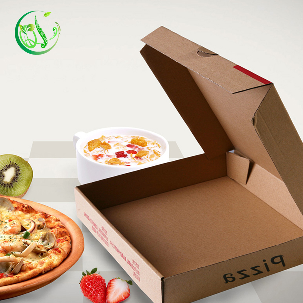 low price separate paper pizza box for huts