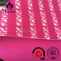 waterproof printed neoprene used for fashional wetsuit fabric