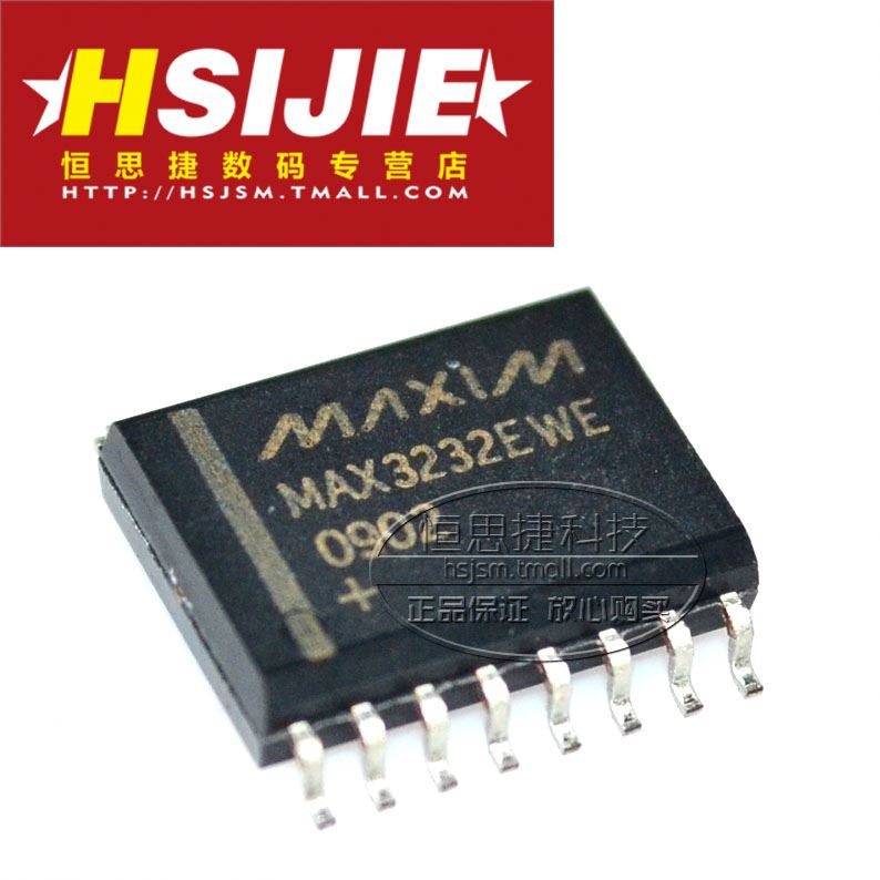 New MAX3232EWE / CWE RS-232 transceiver SOP7.2 wide-body--HSJKJ IC Chip Electronic Component