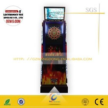 2015 Arcade game machine coin operated electronic dart game machine, dart game