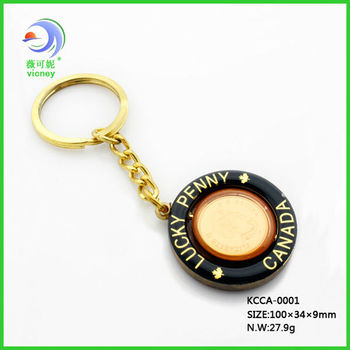 Soft Customized Metal Key Ring