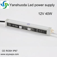 high quality 12v 40w led power supply 3.3a 12v t8 led tube driver 40w led driver hdmi to scart converter