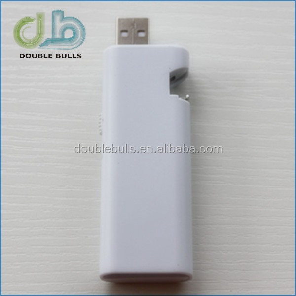 Electronic USB rechargeable lighter with openner for wholesales