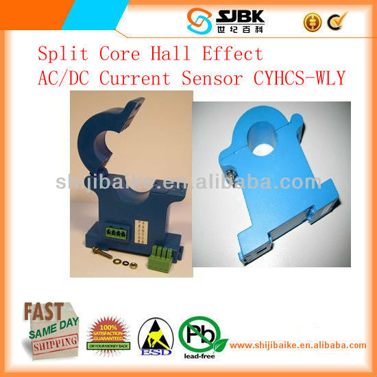 Split Core Hall Effect AC/DC Current Sensor CYHCS-WLY
