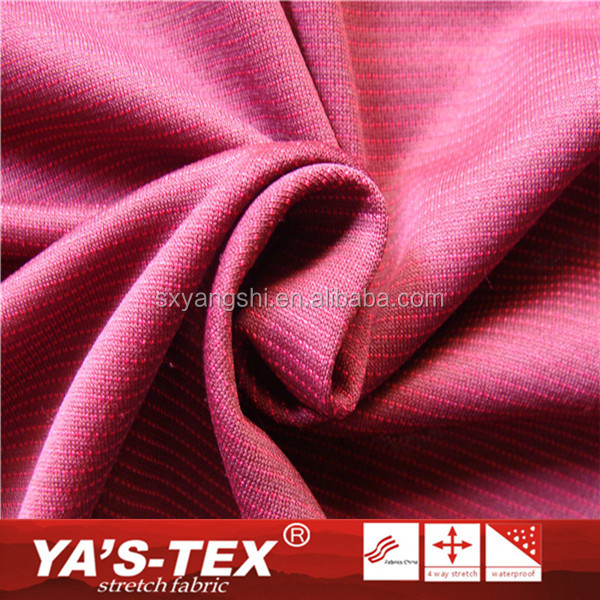 Bamboo charcoal fiber fabric,Wholesale Fabrics Polyester 4 Way Spandex Recycled Textil Fabric For Outdoor Clothing