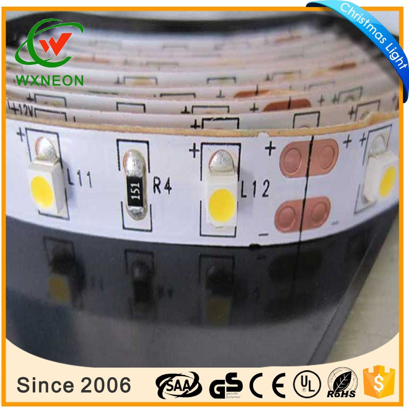 SMD 3528 Single Color 60 LED/M 10mm pcb serises IP20 indoor decoration strip