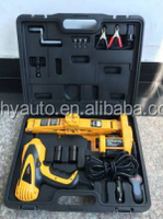 HY-135B Off road dc12v Impact Wrench and Jack Tire Repair Set for cars (Emergency Car Kits)