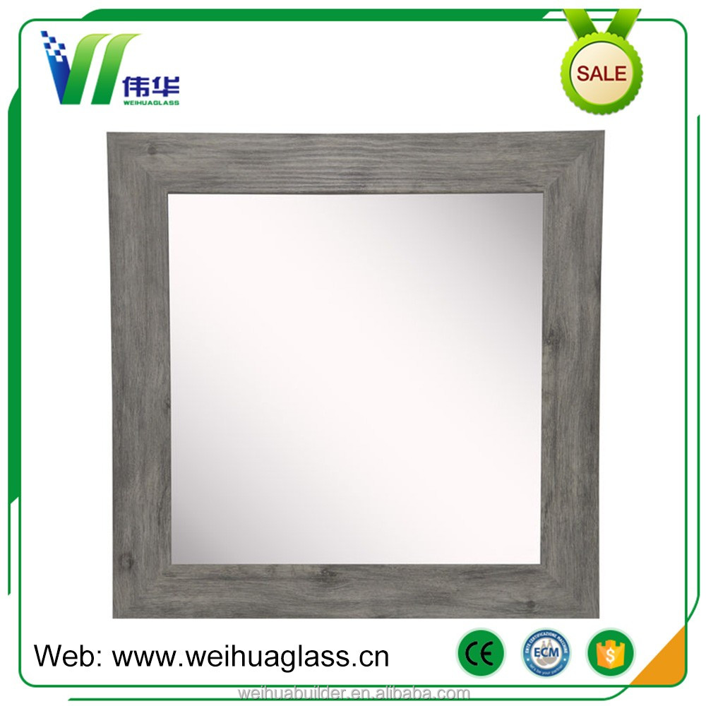 Qualified Double Coating Beveled Edge Aluminum Mirror