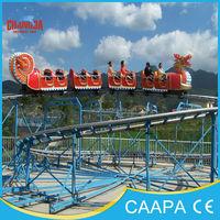Toy amusement park rides family rides sliding dragon coaster