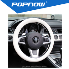 Car Steering Wheel Cover Hand Sewing mix colour silicone material for universal automobile
