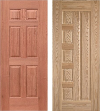 Hot Sale 6 panel oak door skins