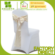 high quality satin organza chair sashes OEM