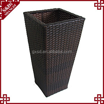 S.D best price good quality handmade tall decorative flower pots