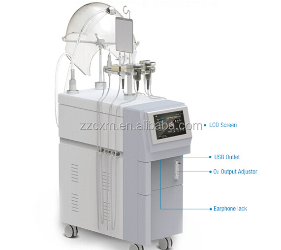 Lowest Price Oxygen Inject Machine for Beauty Salon