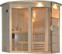 Finland pine home steam sauna room