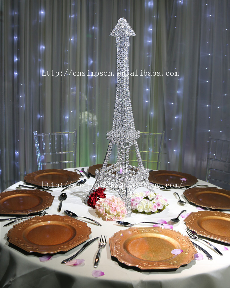 Eiffel tower candle holder for wedding centerpiece for Buy wedding centerpieces