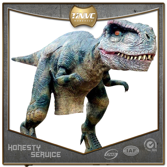 China supplier new design artificial dinosaur costume