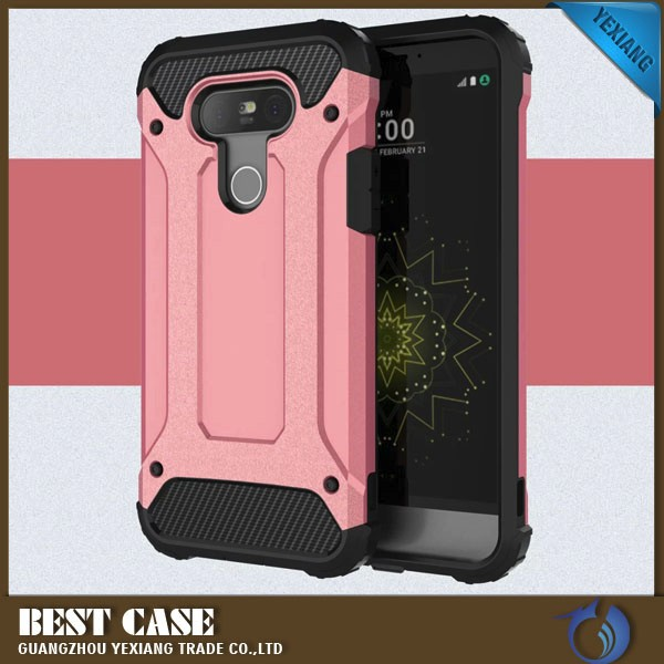 armor heavy duty rugged dual layer hybrid shockproof protective case for lg g5 phone cover