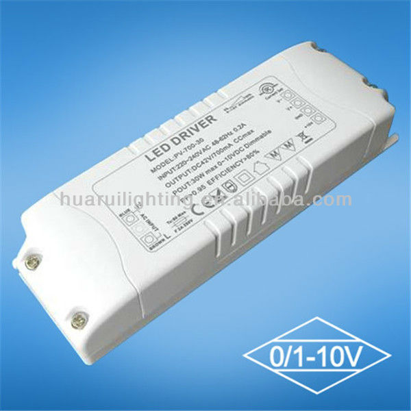 hot selling dc converter 12v to 48v -ac led driver 20w 0~10v dimmable led driver